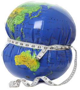 Global obesity a western world issue?