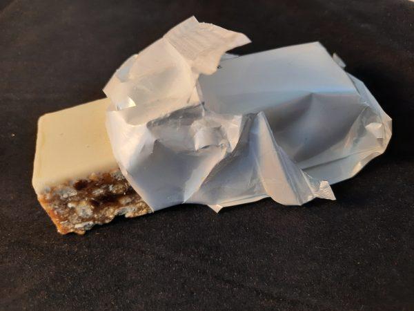 Lipotrim caramel bar - New recipe - opened wrapper5242