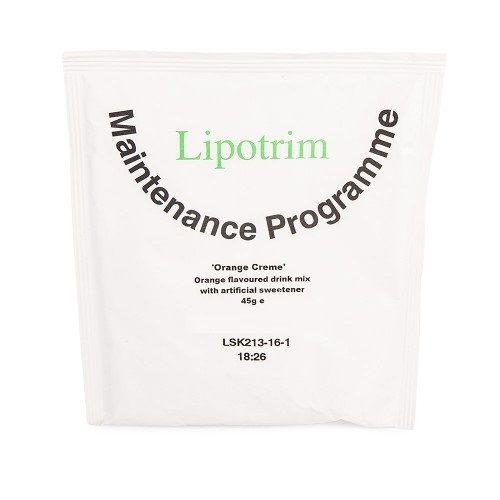 orange creme - Lipotrim maintenance