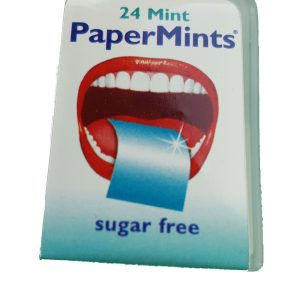 papermints fresh breath strips without background