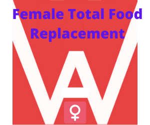 Female Total Food Replacement